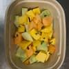 Fruits Mix honey dew mango cantaloupe pineapple